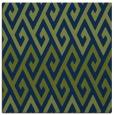 rug #626701 | square blue retro rug