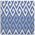 rug #626705 | square blue abstract rug