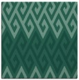 rug #626721 | square blue-green abstract rug