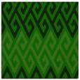 rug #626733 | square green retro rug