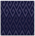 rug #626749 | square blue-violet retro rug