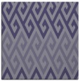 rug #626753 | square blue-violet retro rug