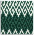 rug #626797   square green abstract rug