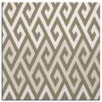 rug #626805 | square mid-brown rug
