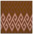 rug #626809 | square mid-brown popular rug