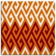 rug #626857 | square orange popular rug