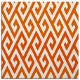 rug #626933 | square red-orange abstract rug