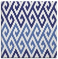 rug #626945 | square blue abstract rug