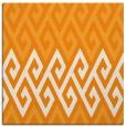 rug #627009 | square light-orange rug