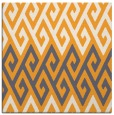 rug #627013 | square white retro rug