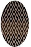 rug #627030 | oval abstract rug