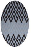 rug #627132   oval abstract rug