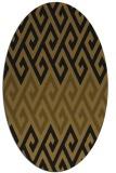 rug #627134 | oval abstract rug