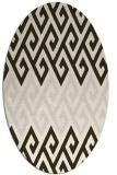 rug #627195 | oval abstract rug