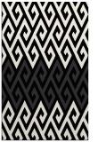 rug #627373 |  black abstract rug