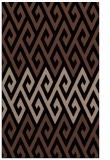 rug #627385 |  brown rug