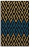 rug #627389 |  mid-brown abstract rug