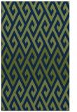 rug #627405    blue abstract rug