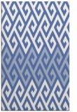 rug #627409    blue retro rug