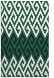 rug #627501 |  green abstract rug