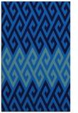 rug #627537 |  blue abstract rug