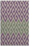 rug #627549 |  purple retro rug