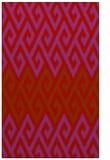 rug #627621    red abstract rug