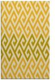 rug #627657    yellow abstract rug