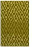 rug #627689 |  light-green retro rug