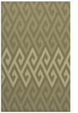 rug #627693 |  light-green abstract rug