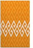 rug #627713 |  light-orange abstract rug
