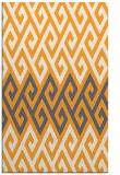 rug #627717    light-orange retro rug