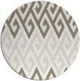 rug #627721 | round beige retro rug