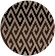 rug #627734 | round retro rug