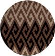 rug #627740   round retro rug