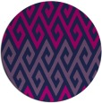 rug #627749 | round abstract rug