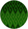 rug #627789 | round green abstract rug