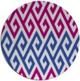 rug #627821   round retro rug