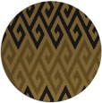 rug #627838 | round retro rug