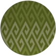 rug #627845 | round green abstract rug