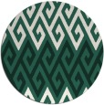 rug #627853 | round green abstract rug