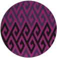 rug #627899 | round abstract rug