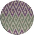 rug #627901 | round beige retro rug