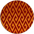 rug #627910 | round abstract rug