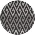 rug #627921 | round orange retro rug