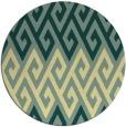 rug #627927 | round retro rug