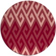 rug #627937 | round pink abstract rug