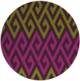 rug #627949 | round green abstract rug