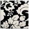 rug #628429 | square black damask rug