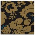 rug #628445   square black damask rug